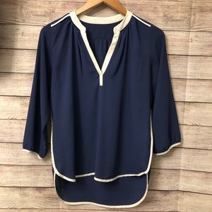♥️Lightweight V-Neck Blouse with 3/4 Sleeves
